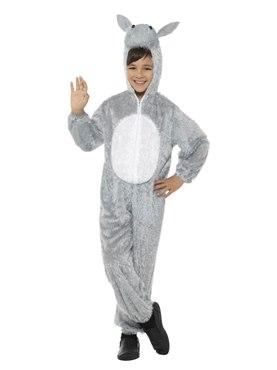 Donkey Halloween Costume | Child Plush Donkey Costume 30807 Fancy Dress Ball