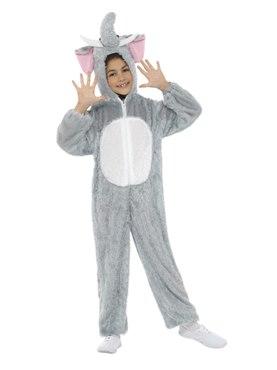 Child Plush Elephant Costume