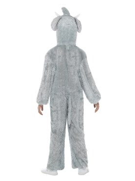 Child Plush Elephant Costume - Side View