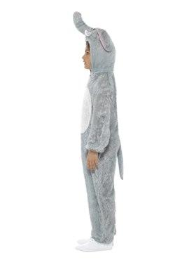 Child Plush Elephant Costume - Back View