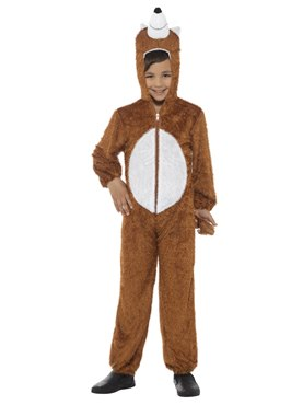 Child Plush Fox Costume