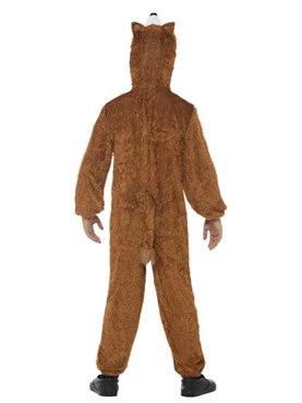 Child Plush Fox Costume - Side View