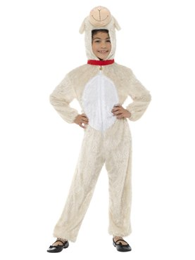 Child Plush Lamb Costume