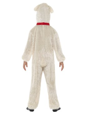 Child Plush Lamb Costume - Side View