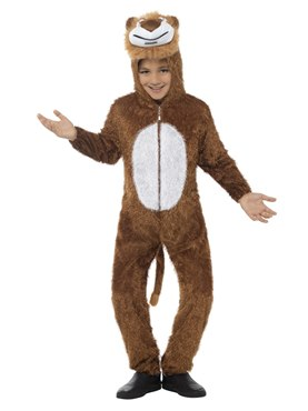 Child Plush Lion Costume