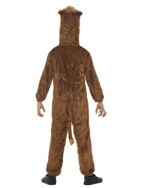 Child Plush Lion Costume - Side View