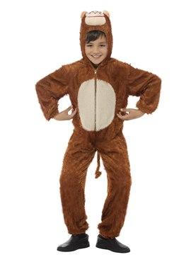 Child Plush Monkey Costume