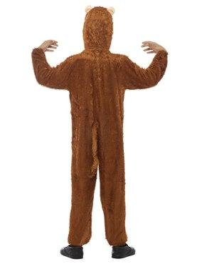 Child Plush Monkey Costume - Side View