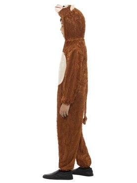 Child Plush Monkey Costume - Back View