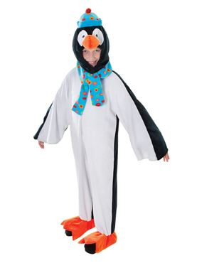 Child Plush Penguin Costume