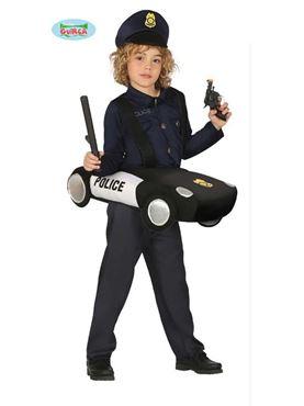 Child Police Car Costume