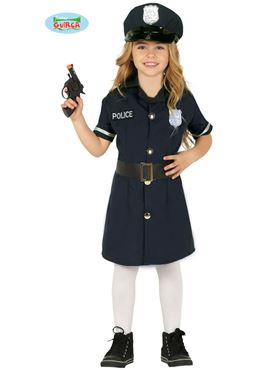 Child Police Girl Costume