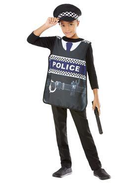 Child Police Kit - Back View