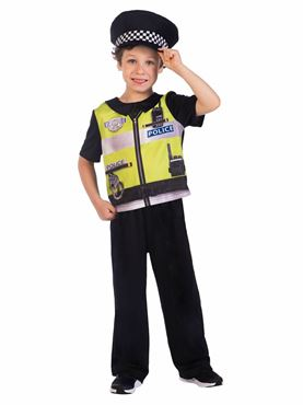 Child Police Officer Sustainable Costume