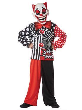 Child Pop Wow Clown