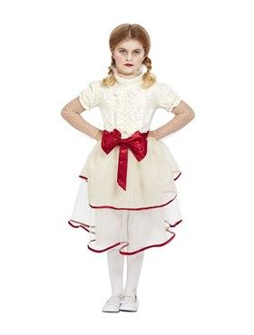 Child Porcelain Doll Costume - Back View