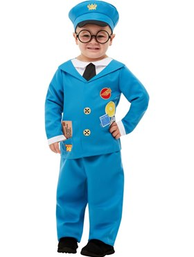 Child Postman Pat Costume - Side View