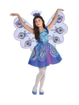 Child Pretty Peacock Costume