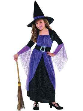Child Pretty Potion Witch Costume