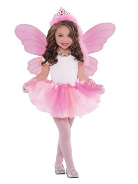 Child Princess Fairy Wings - Back View