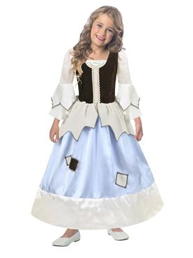 Child Princess Pauper Costume