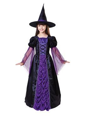 Child Princess Witch Costume