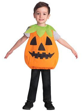 Child Pumpkin Tabard Costume