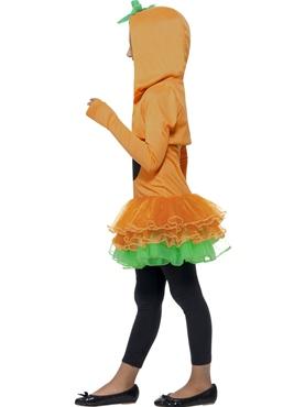 Child Pumpkin Tutu Costume - Back View