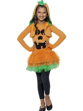 Child Pumpkin Tutu Costume