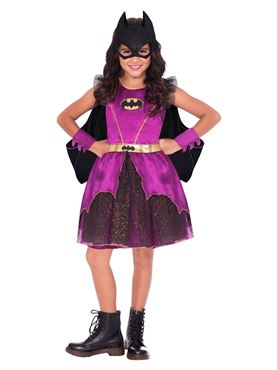 Child Purple Batgirl Classic Costume