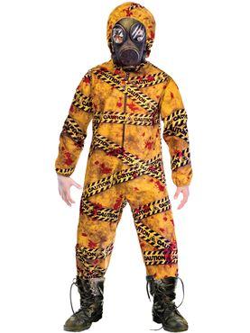 Child Quarantine Zombie Costume
