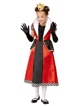 Child Queen of Hearts Costume - Back View