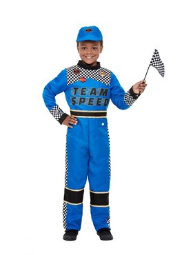Child Racing Car Driver Costume Couples Costume