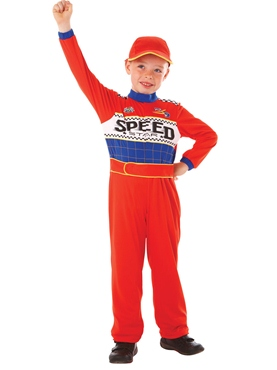 Child Racing Driver Costume