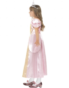 Child Sleeping Princess Costume - Back View