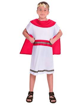 Child Red Caesar Costume