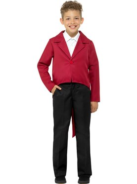 Child Red Tailcoat
