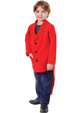 Child Red Tailcoat