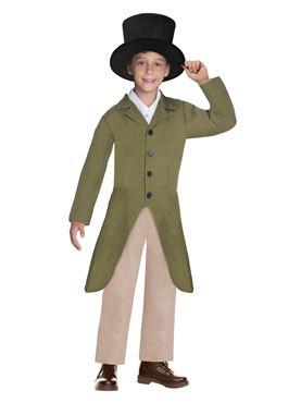 Child Regency Boy Costume - Side View