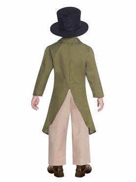 Child Regency Boy Costume - Back View
