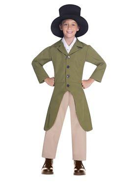 Child Regency Boy Costume