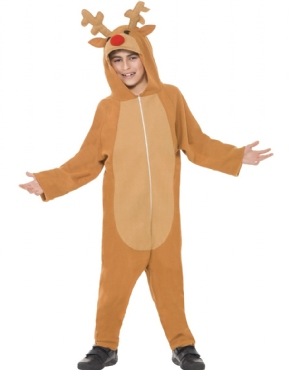 Child Reindeer Onesie Costume