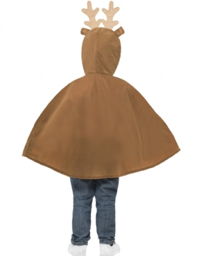 Child Reindeer Poncho - Side View