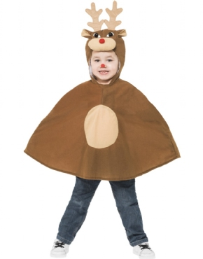 Child Reindeer Poncho