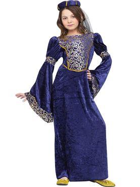 Child Renaissance Maiden Costume