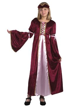 Child Renaissance Princess Costume