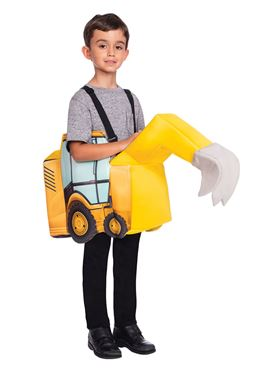 Child Ride On Digger Costume