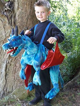 Child Ride On Dragon Costume