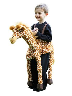 Child Ride On Giraffe Costume