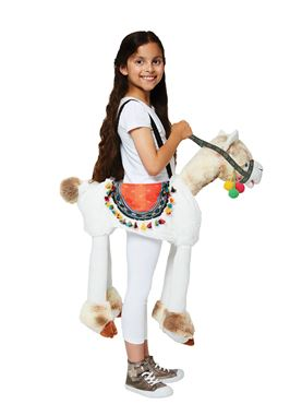 Child Ride On Llama Costume